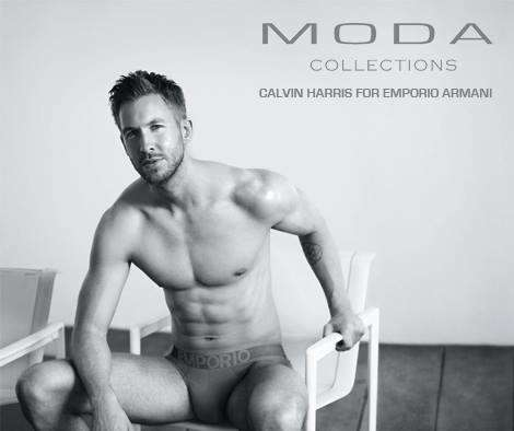 male underwear model calvin harris armani