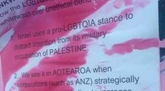 Queers Against Justice Pinkwash