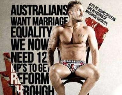 aussieBum same-sex marriage