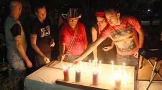candlelight vigil world aids day quac