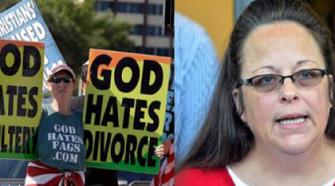 god hates fags westboro baptisit church kim davis