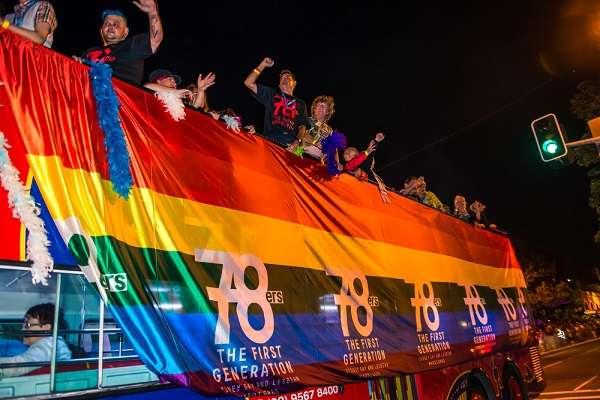 The Mardi Gras 78ers