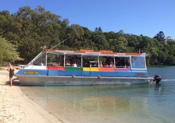 Noosa Rainbow River Festival Boat