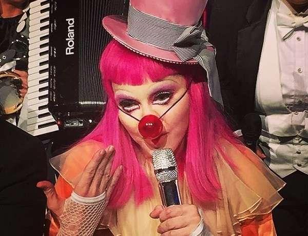 Madonna's Clown Costume
