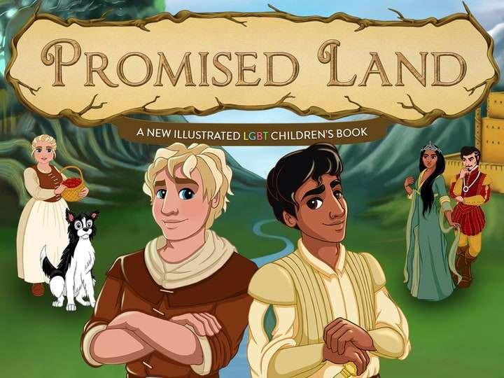 Promised Land LBGT Fairy Tale Kickstarter