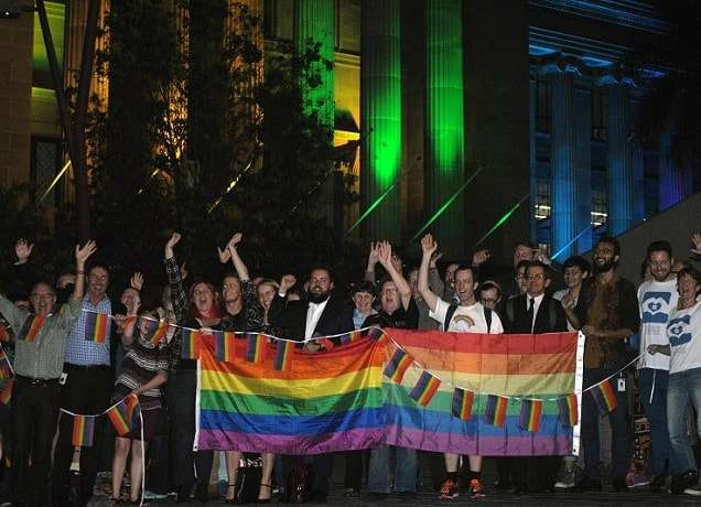 Brisbane City Council Supports Marriage Equality