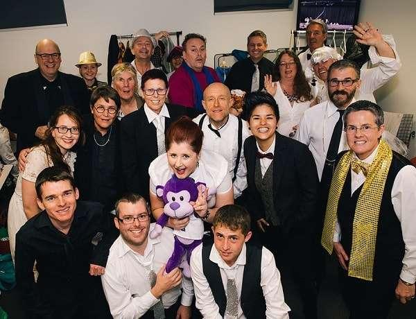 Brisbane Pride Choir Group Photo