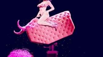 Dita Von Teese Burlesque Stage Show