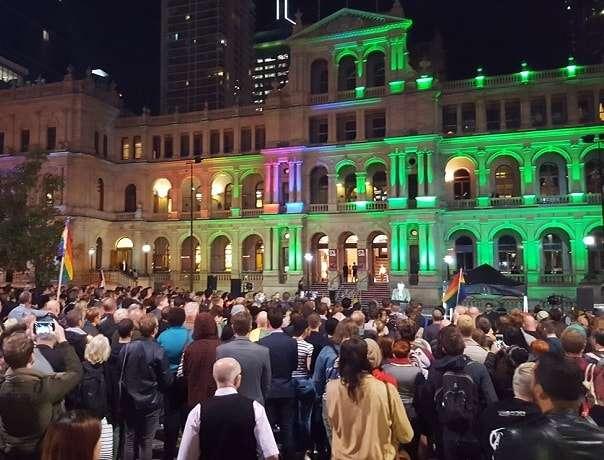 Brisbane Orlando Candlelight Vigil