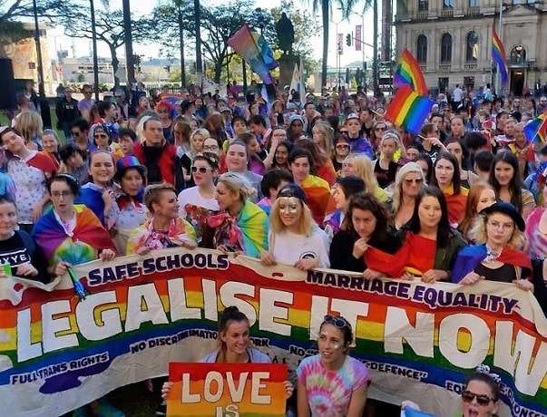Equal Love Brisbane Rally Photo