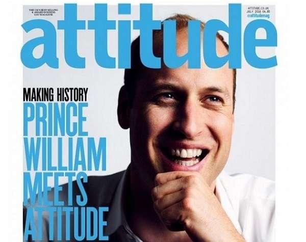 Prince William Attitude Cover