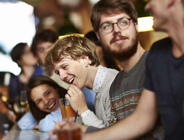 Josh Thomas Please Like Me Bar Promo Shot