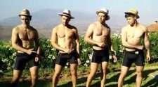 Warwick Rowers Striptease Nude Male