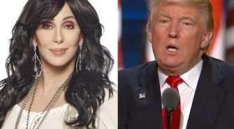 Cher Donald Trump Composite