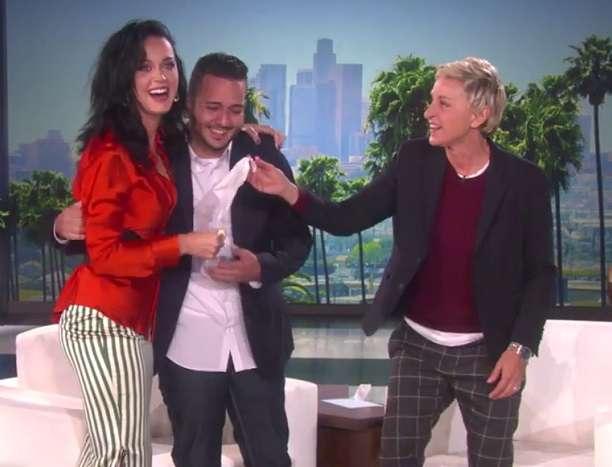 Ellen Orlando Survivor Katy Perry