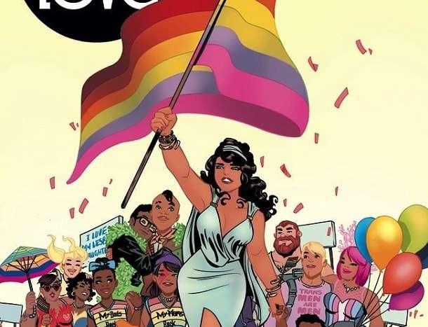 Love Is Love Comic Book Cover-min
