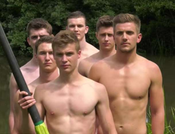 Warwick Rowers nude male nude calendar