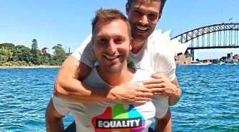 ian thorpe ryan channing marriage equality sydney same-sex marriage mardi gras