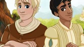 Children's LGBTI-themed fairytale book about a prince falling in love with a young farmhand was released on Valentine's Day after a very successful crowdfunding campaign