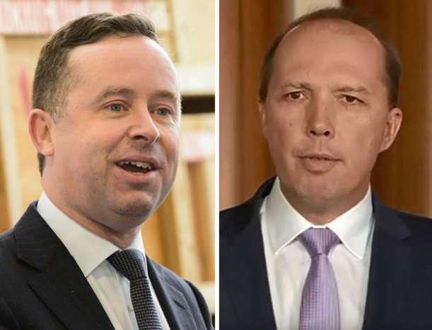 Peter Dutton Alan Joyce Qantas