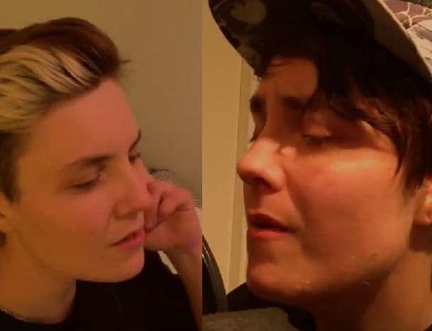 transgender man Charlie Peck duet