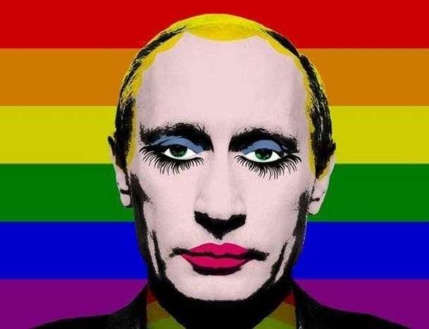 Vladimir Putin Gay Russia Bans Make Up