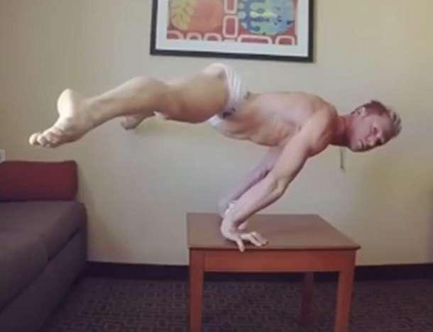 Cirque du Soleil Andrii Bondarenko Video Viral