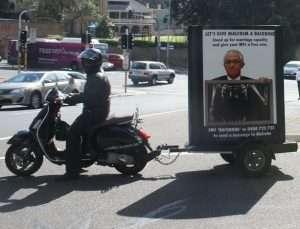 PFLAG Give Turnbull A Backbone Mobile Billboards Campaign