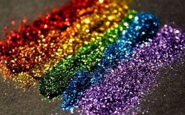Marriage Survey Envelope glitter scientists