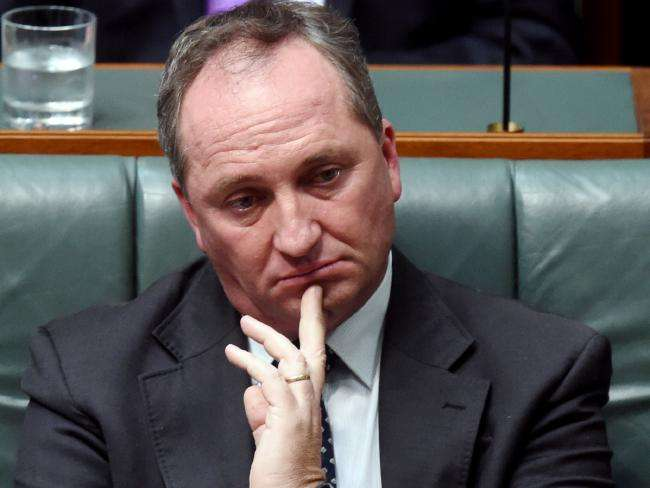 minister Barnaby Joyce