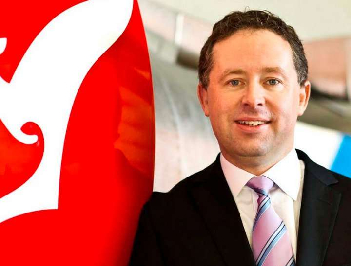 Qantas CEO Alan Joyce Qantas CEO Alan Joyce has donated $1 million to the 'Yes' campaign cause for marriage equality in Australia.