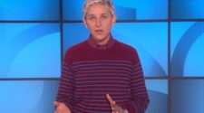 Ellen DeGeneres sexual abuse David Letterman