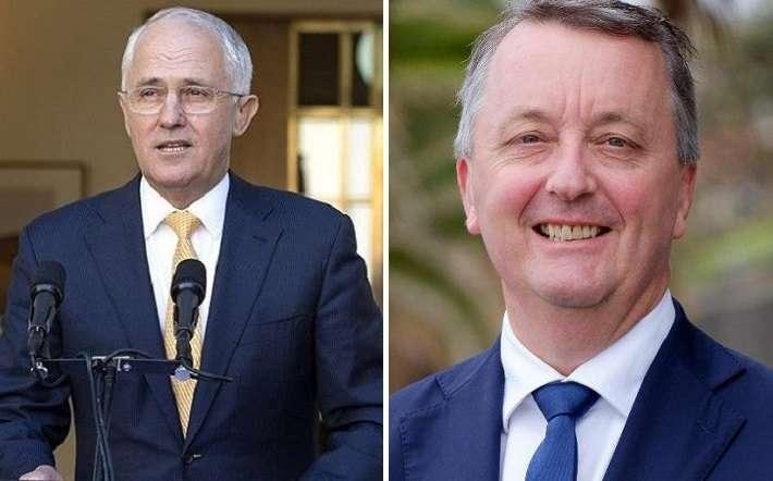 Malcolm Turnbull Martin Foley