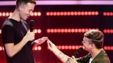 The Voice marriage proposal