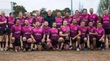 brisbane hustlers rugby team at Bingham Cup 2018