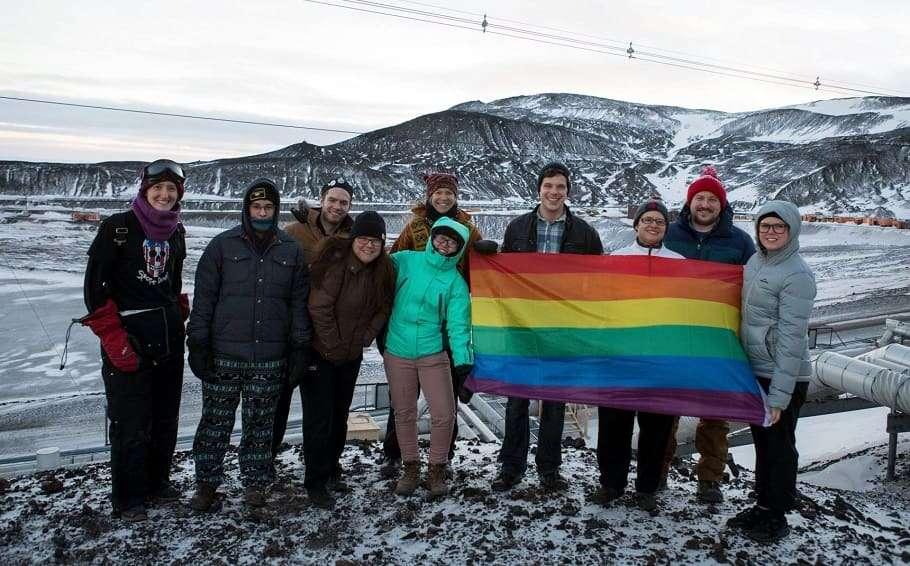 Antarctica gay pride