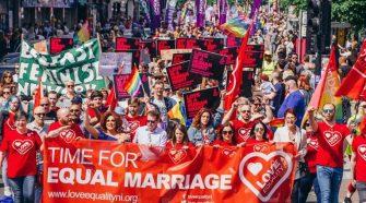 Ireland Marriage Equality Rally