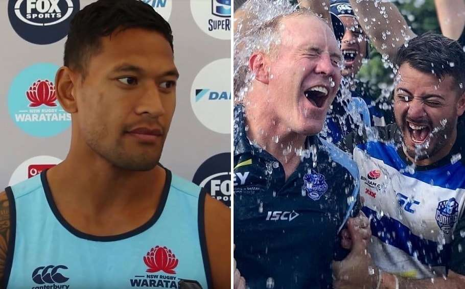 Israel Folau Is Invited To Celebrate The Sydney Convicts' Bingham Cup Win