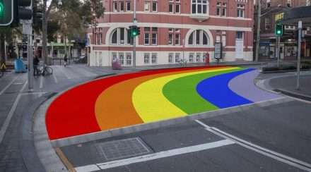 Rainbow Crossing Sydney