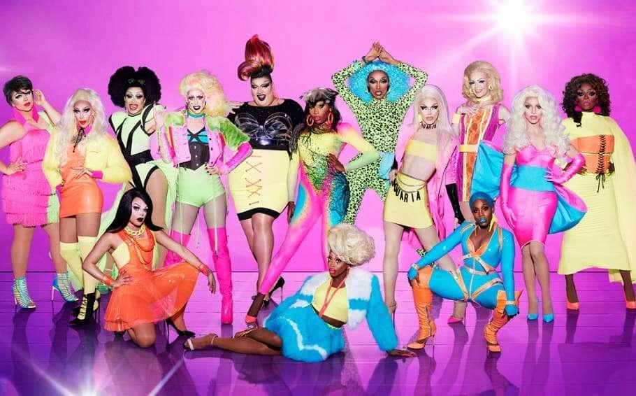 RuPaul's Drag Race season 10 cast group photo