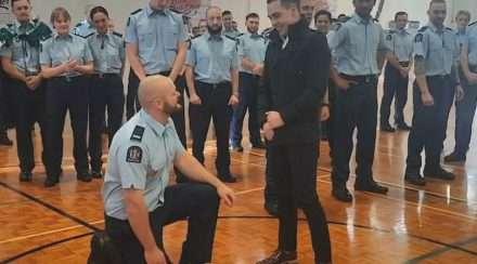 nz police graduation proposal