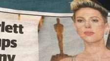 Scarlett Johansson newspaper story in the Daily Telegraph slammed for transphobic slur