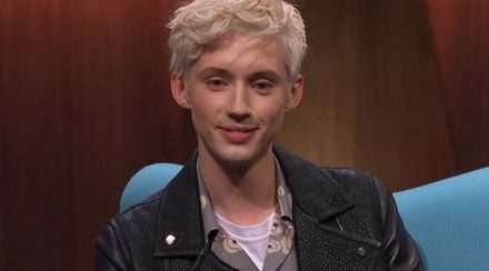 Troye Sivan is interviewed by Andrew Denton on Channel 7 program Interview