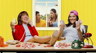 Promo art for the Australian comedy film The Breaker Upperers
