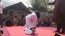 malaysia Indonesia's Aceh province caned whipped islam