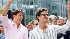 Canadian Prime Minister Justin Trudeau and Queer Eye star Antoni Porowski