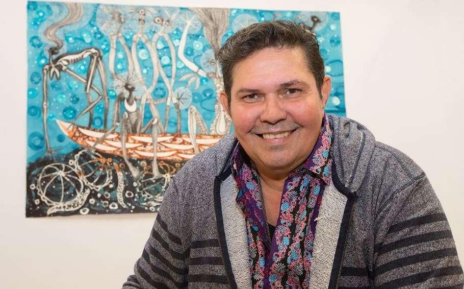 Cairns-based artist Arone Meeks