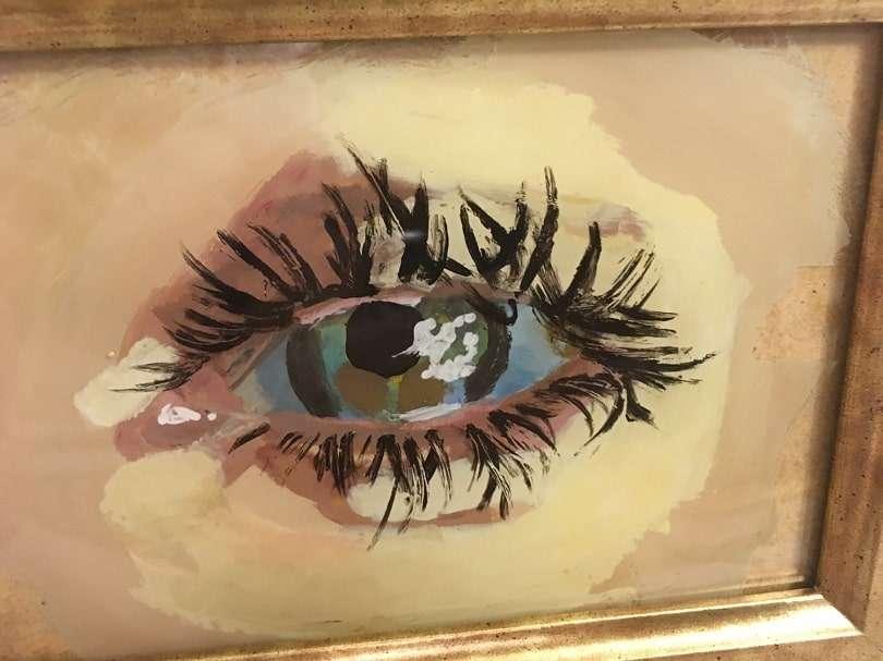 Kate French artwork Eye