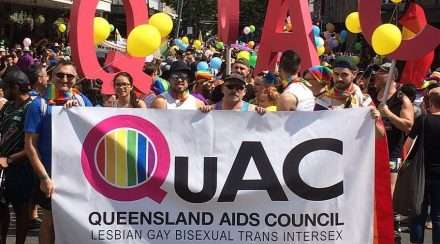 queensland aids council QuAC Suicide Prevention Cains Pride Festival brisbane pride