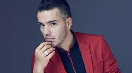 Anthony Callea needing a shave